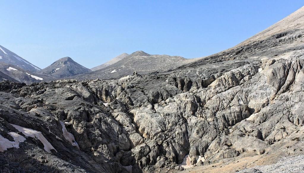 Lefka Ori montagnes blanches en Crète