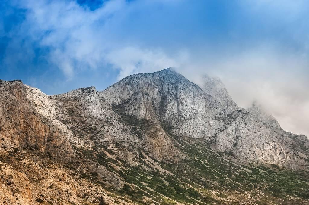 Montagnes en Crète