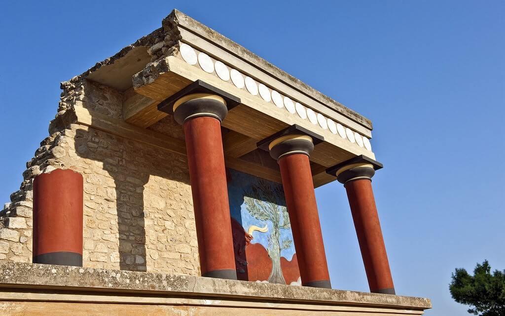 Palais de Minos à Knossos