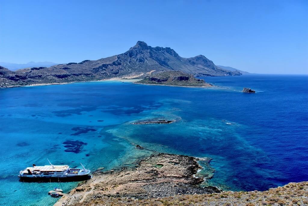 Paysage mer en Crète