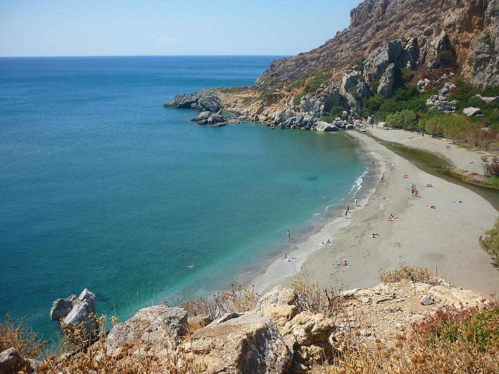 Preveli plage de rêve en Crète