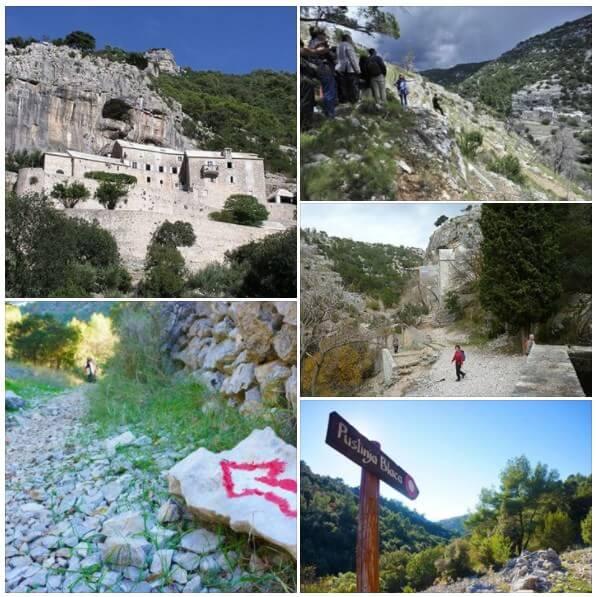 Pustinija et Dolina Blaca sur l'île de Brac