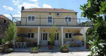 Villa Melanie à Stasevica en Dalmatie