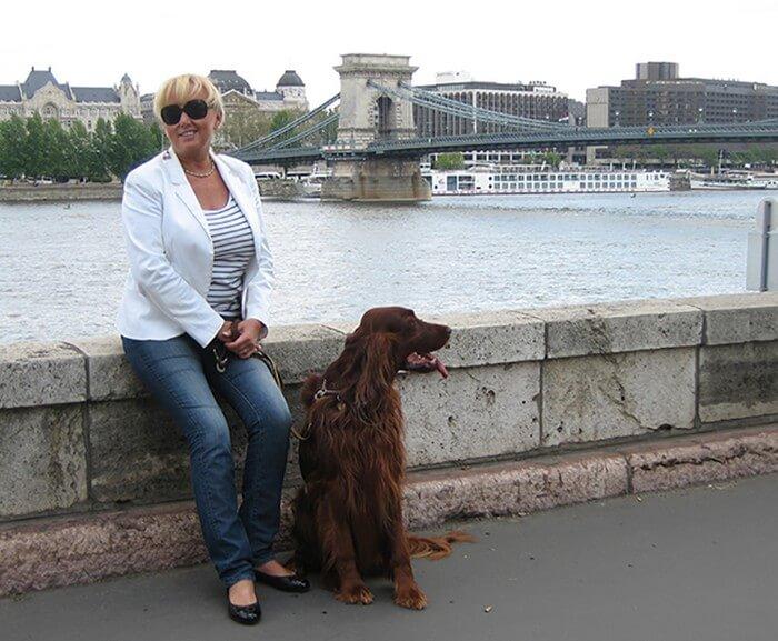 Ditta Kausay, guide francophone et assistante de voyage à Budapest 1