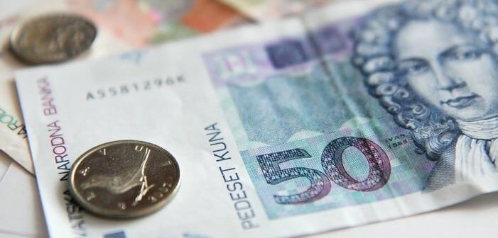 Kuna billet de monnaie croate