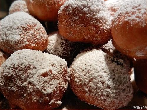 frittele vénitiennes beignets carnaval de venise