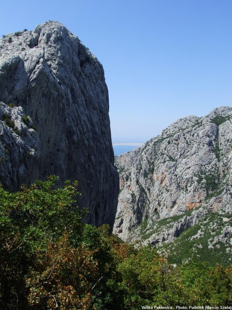 Anica kuk Vallée de Velika Paklenica