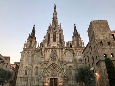 Cathédrale sainte Eulalie Barcelone
