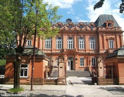 Cetinje ancienne ambassade de Russie au Montenegro