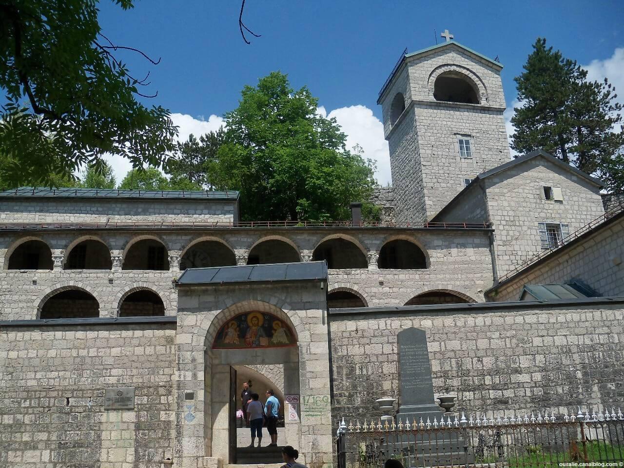 Entrée du monastère de Cetinje