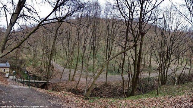 Illok Hopovo sentier autour du vieux monastère