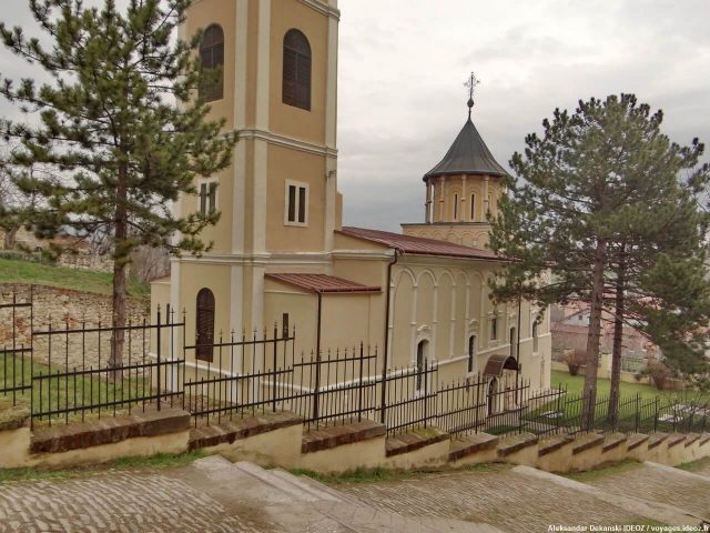 Irig église Saint-Nicolas en Voivodine