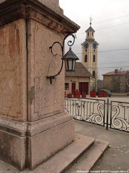 Irig en Voivodine clocher de l'église