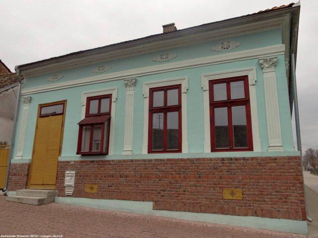 Irig maison dans le centre de la ville en Voïvodine