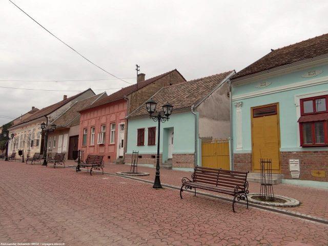 Irig rue principale en Voivodine serbe