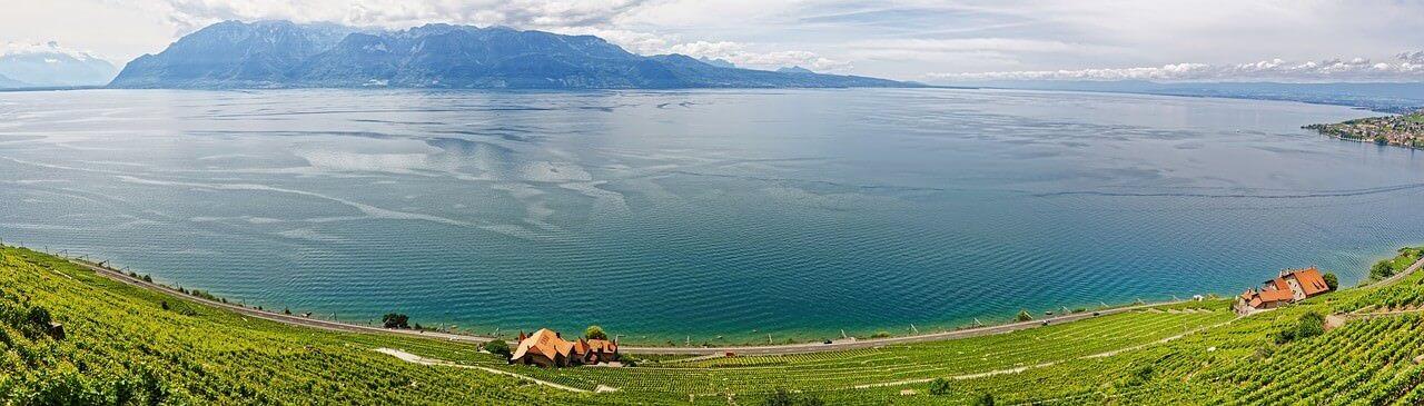 Lac Leman près de Genève
