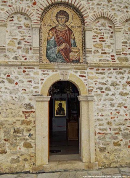 Staro Hopovo entrée du monastère