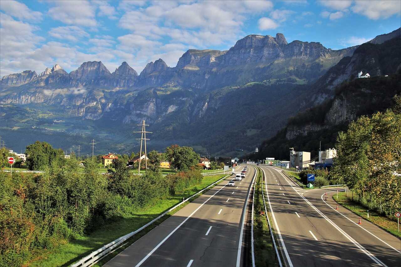 autoroute alpine