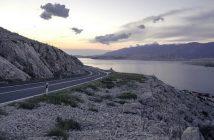 route du littoral en Croatie