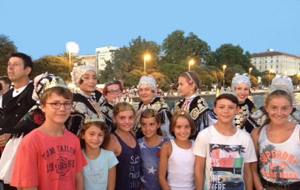 visite guidée de Split avec des enfants sur le thème de l'histoire et du jeu de piste