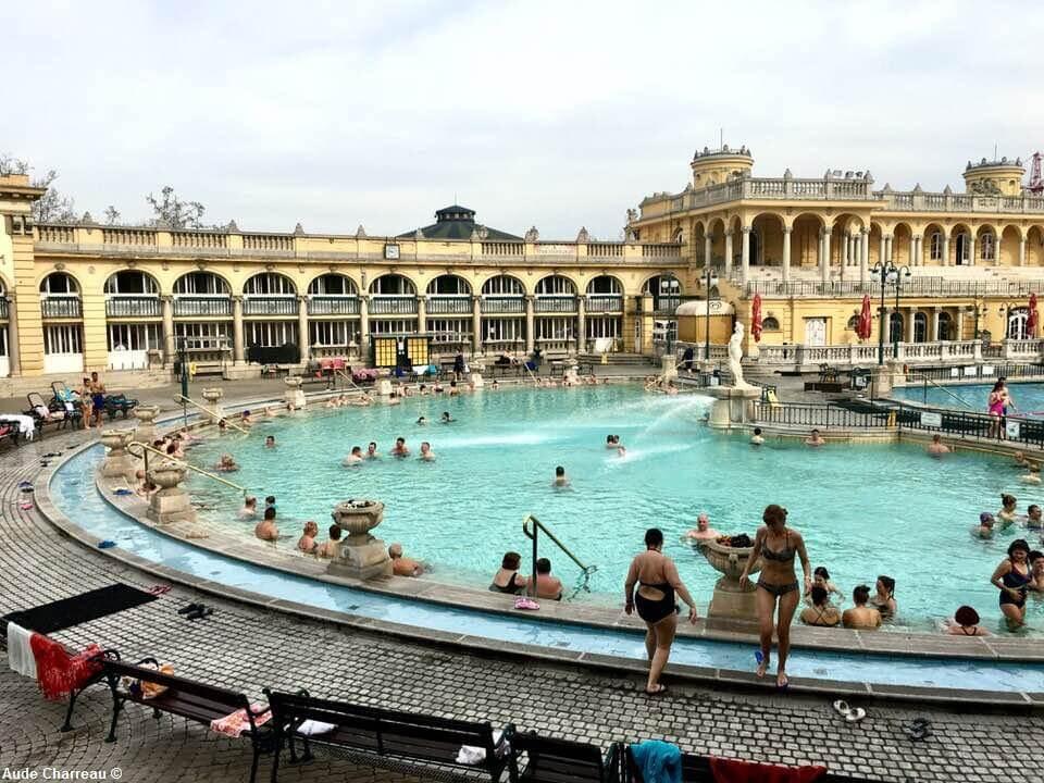 Budapest Bains Széchenyi
