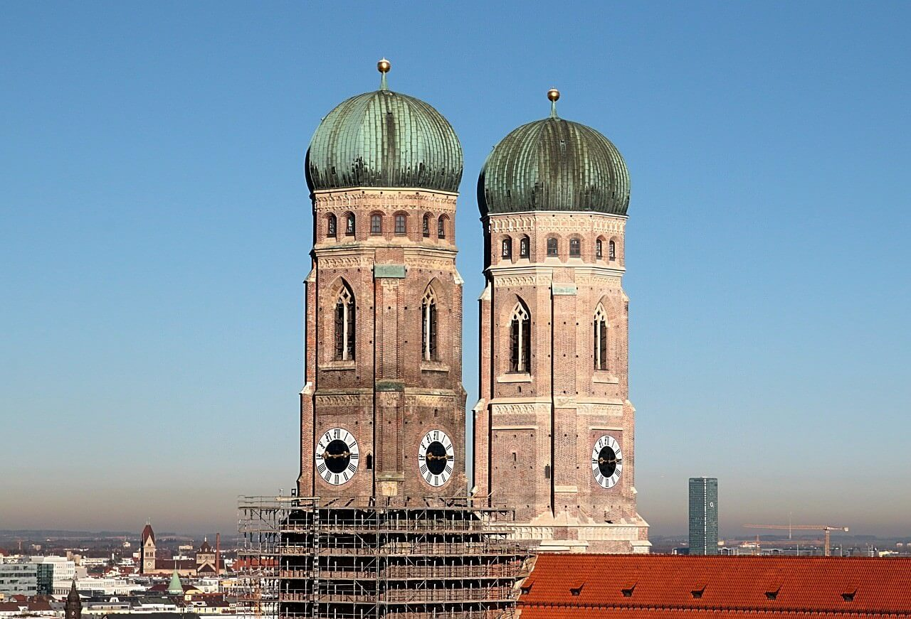 Frauenkirche Clochers de la cathédrale de Munich