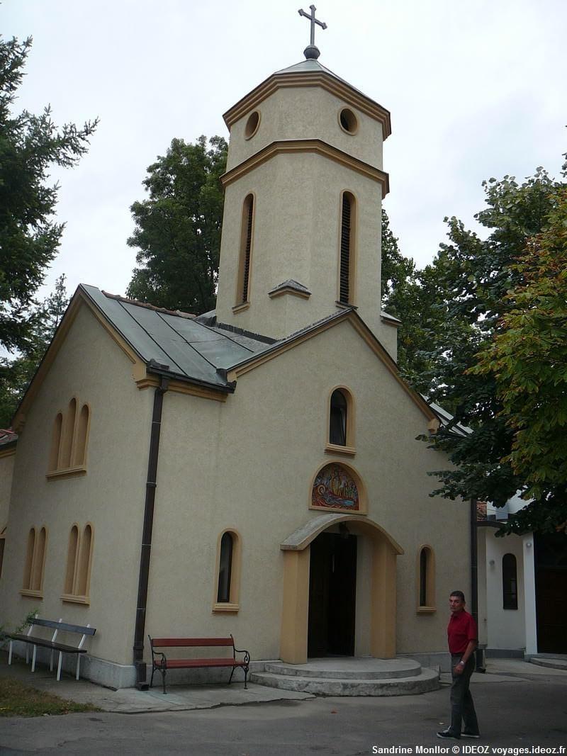 Petite église près de Begaljica en Serbie centrale