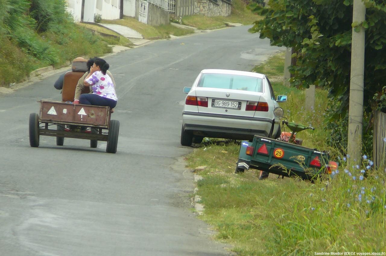 Taxi local en serbie profonde