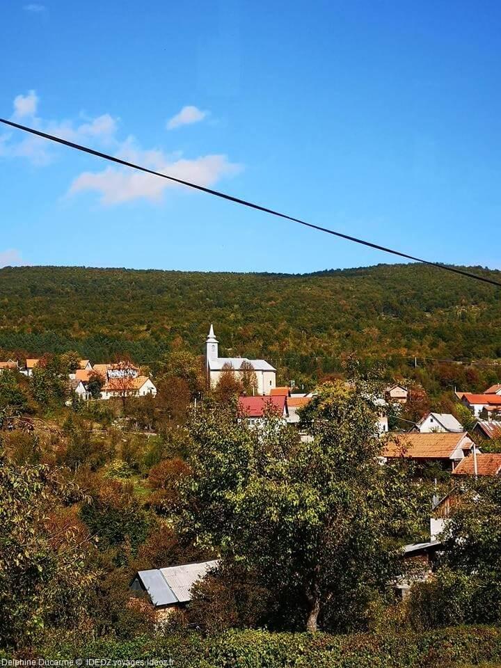 Village de Kuterevo dans le Velebit nord