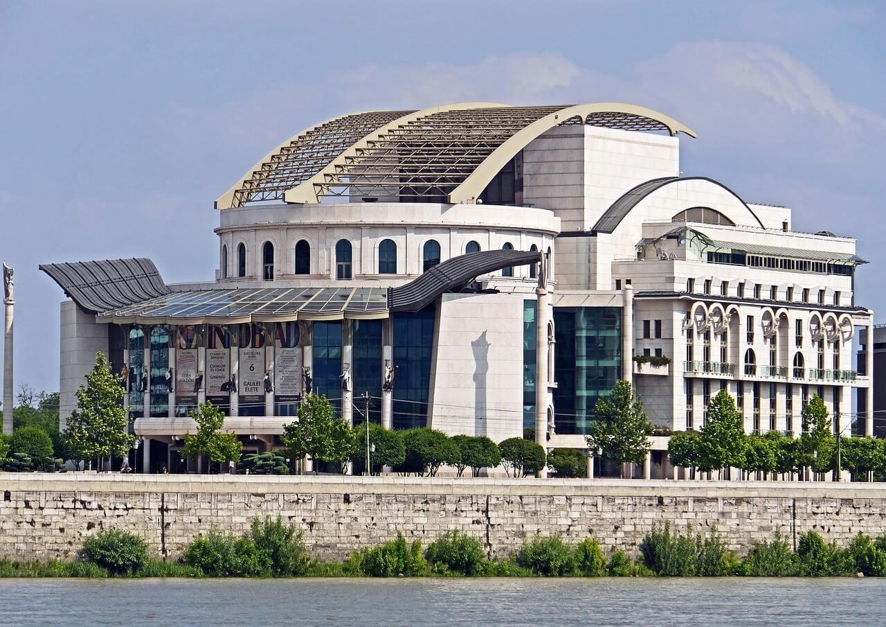 Budapest nouveau théâtre