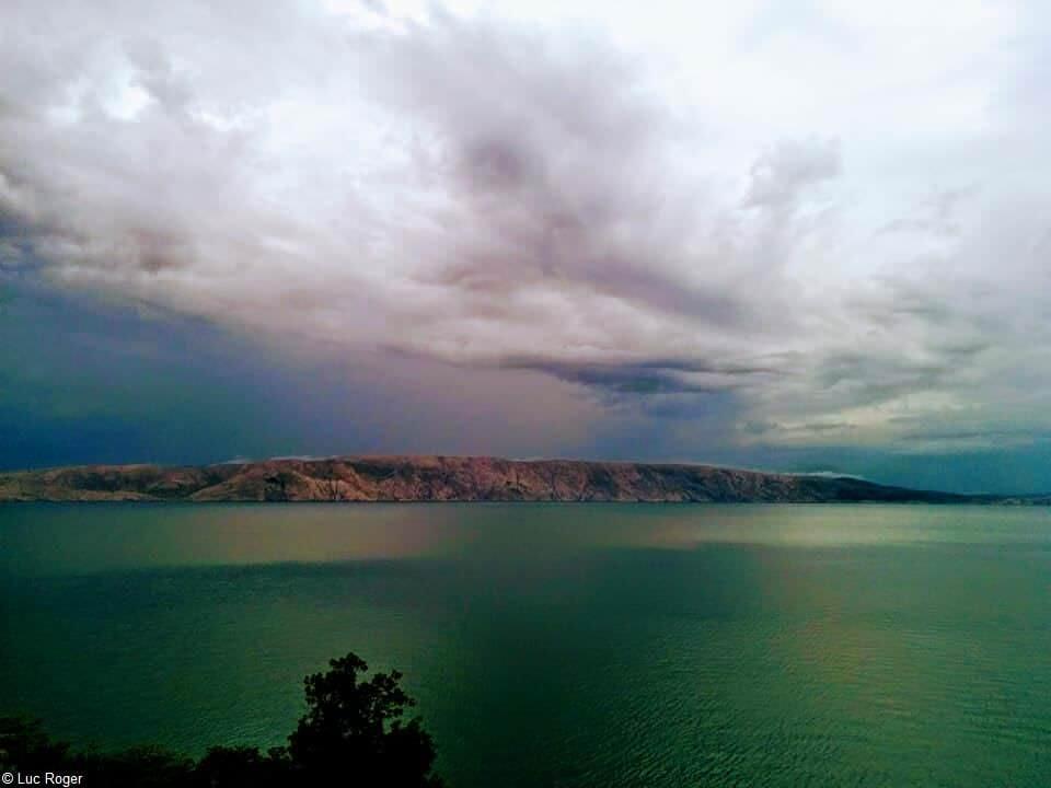 Krk pendant un orage