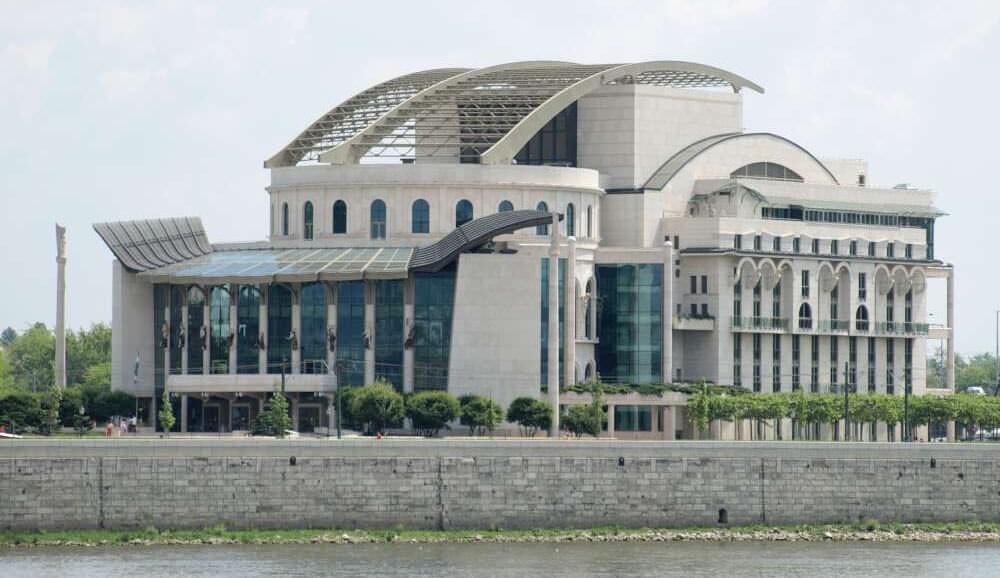 Nemzeti Szinhaz Théâtre national de Hongrie à Budapest