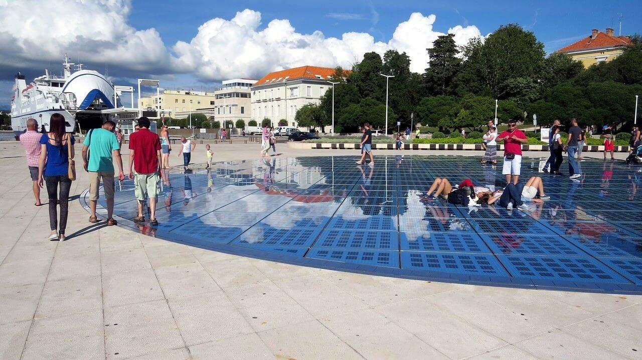Orgues marines Zadar de jour
