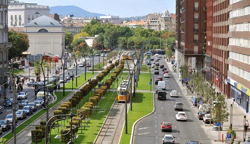 Petit Boulevard de Pest à Budapest