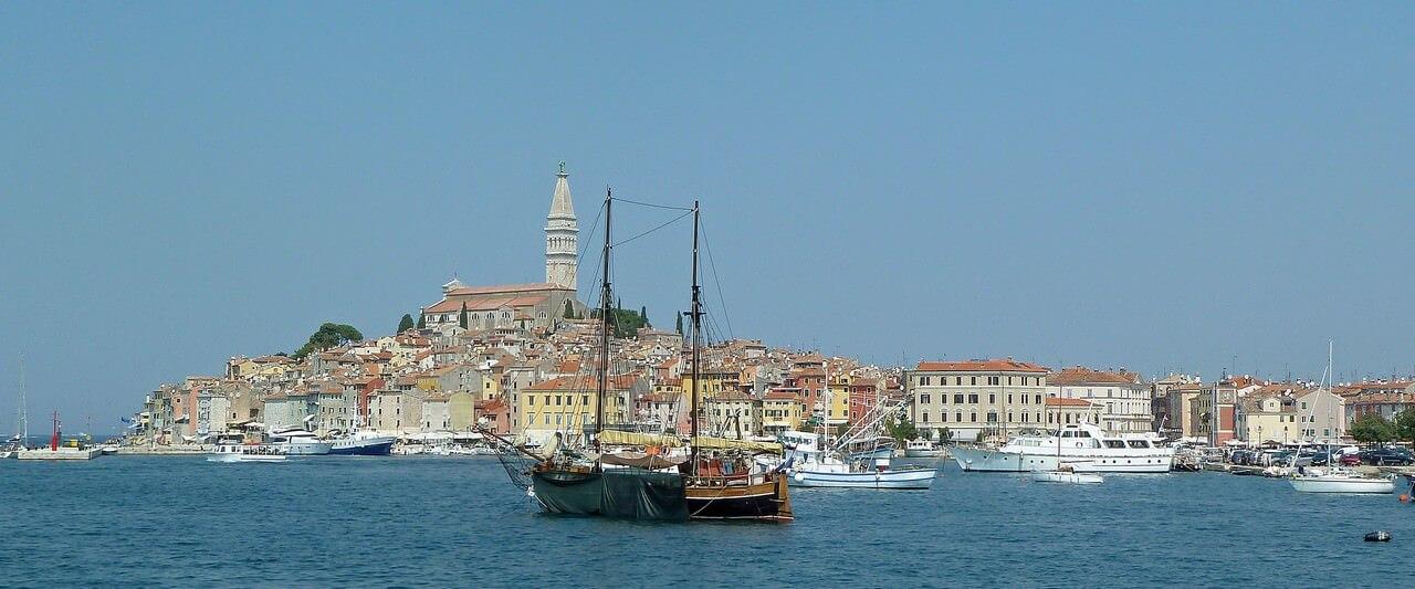 Rovinj ville romantique en Istrie
