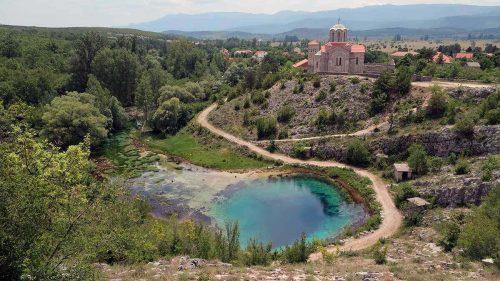 Source de la rivière Cetina à Cetina