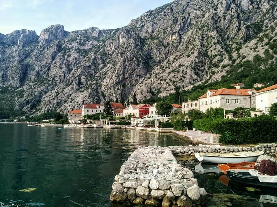 Village de Ljuta sur le littoral Montenegrin