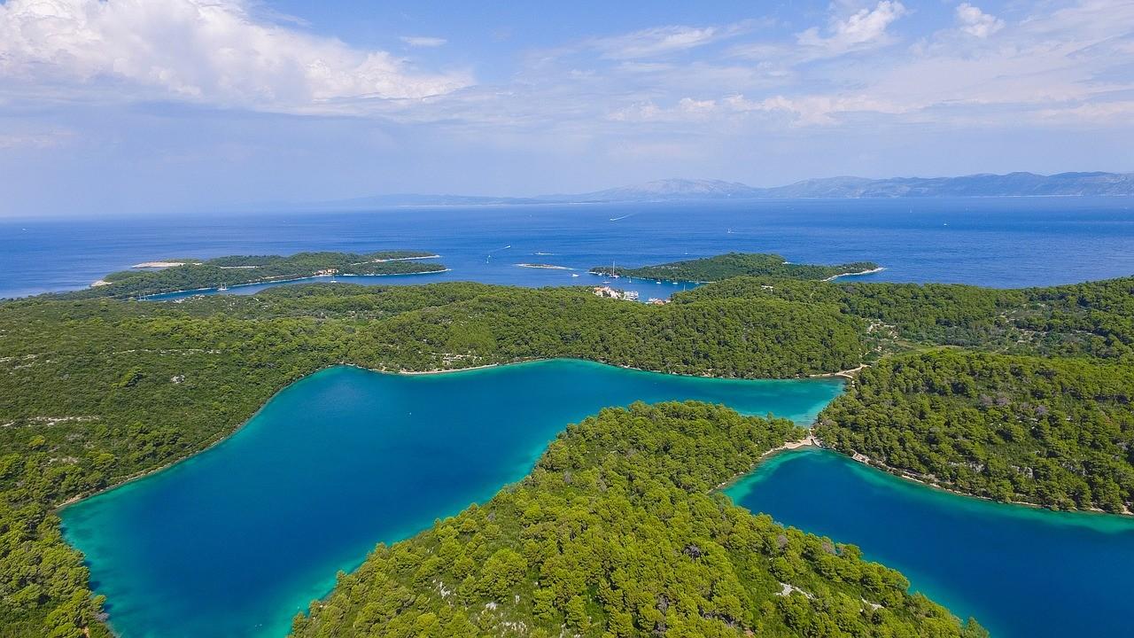 nature sur les iles en Croatie