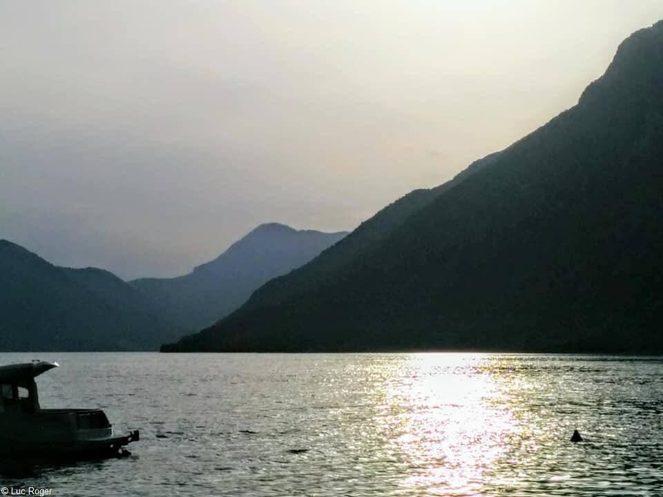 vue des montagnes du Montenegro depuis Ljuta