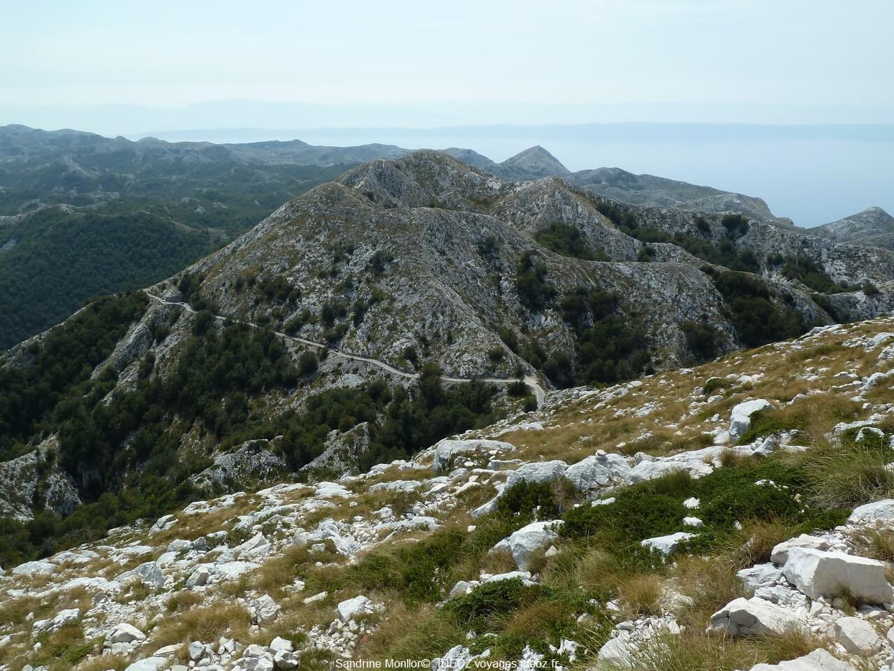 Massif de Biokovo ; paysages époustouflants sur la Via Dinarica en Dalmatie centrale 1