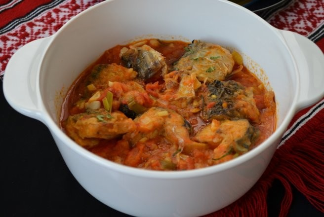 Brodet od riba soupe de poissons croate