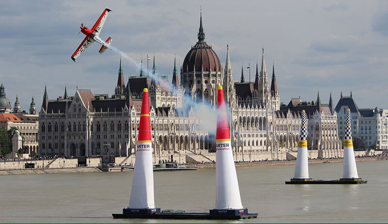 Budapest Red Bull air tour