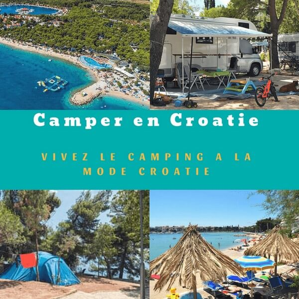 Camper en Croatie brochures officielles