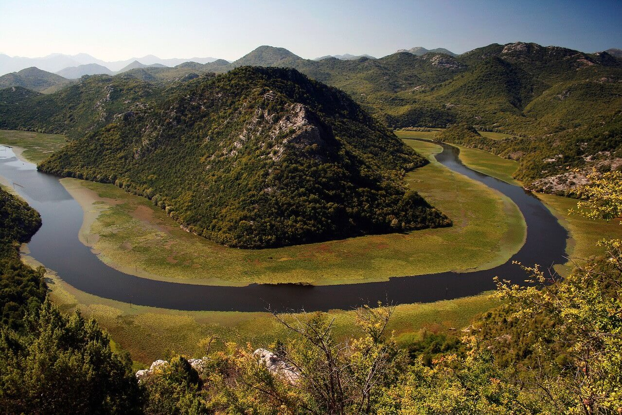 Lac Skadar au Montenegro
