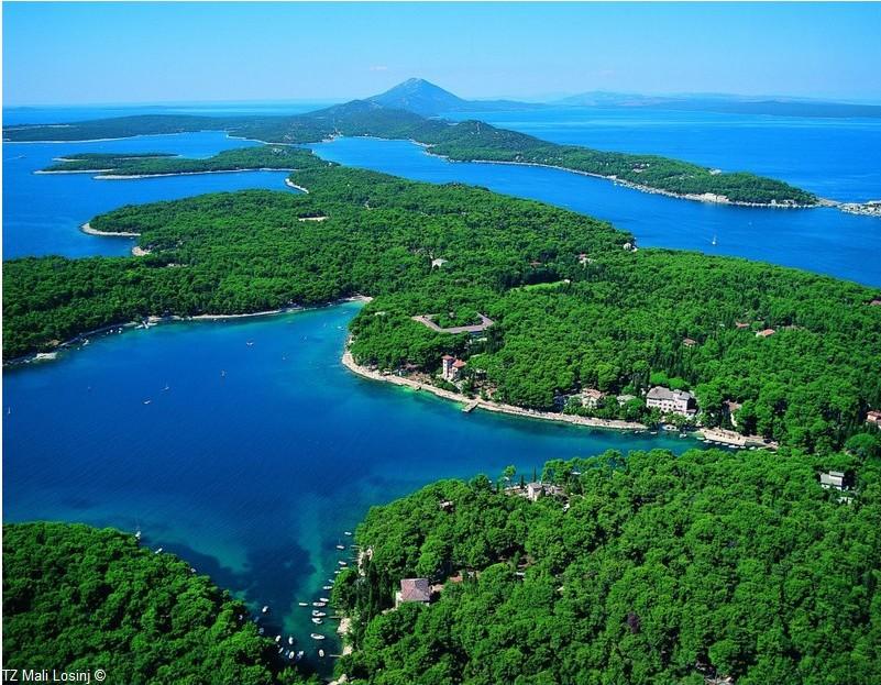 Lastovo ile de Dalmatie du sud