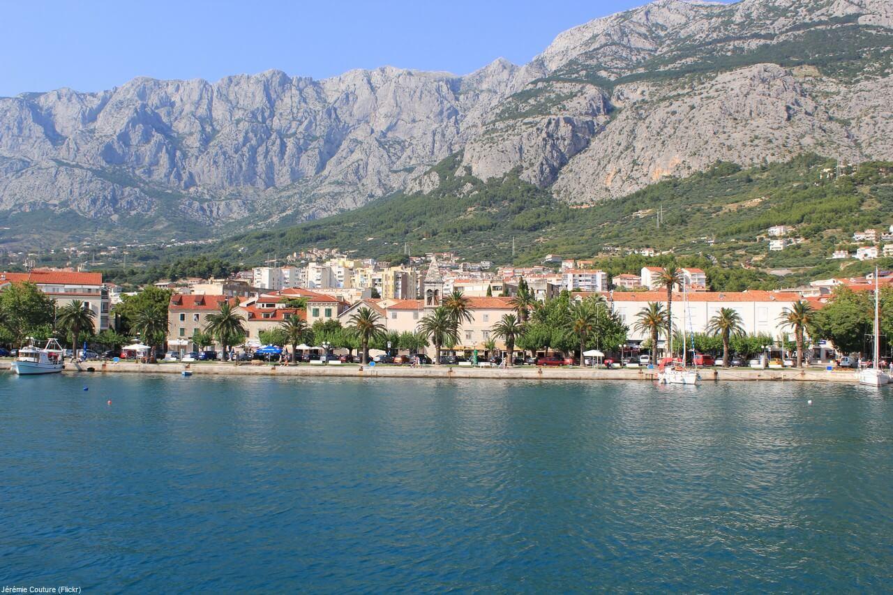 Makarska en Dalmatie centrale