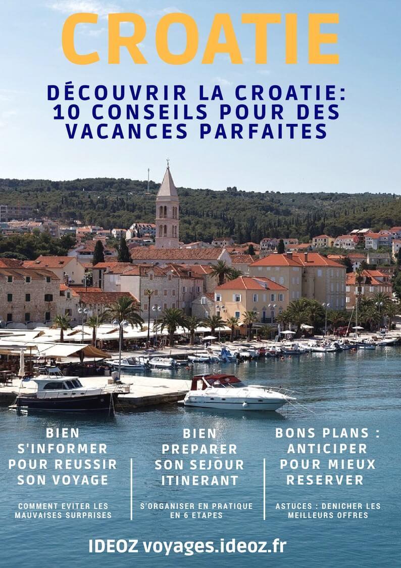 Préparer son voayge en Croatie
