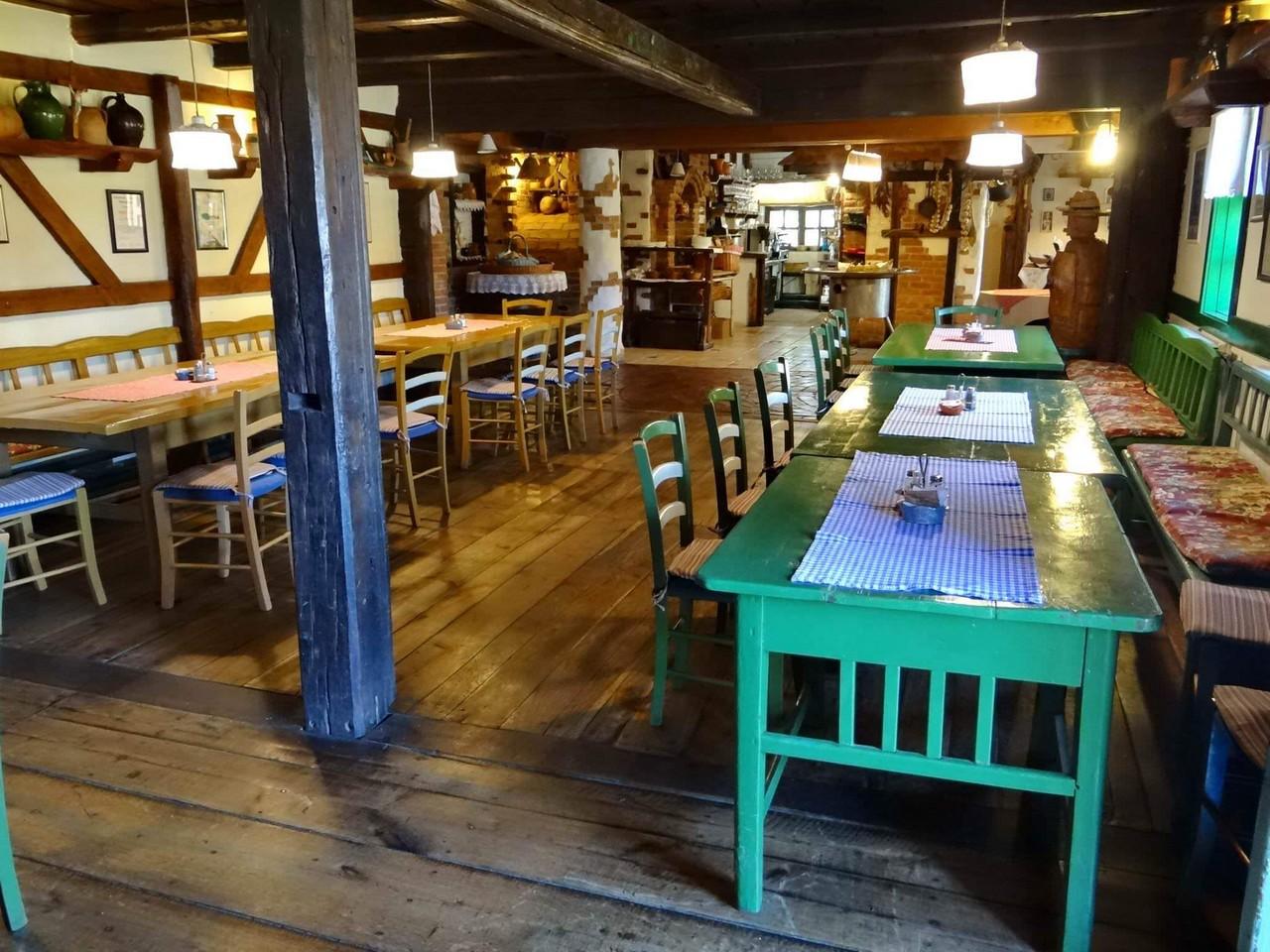 Salle de restaurant chez Janko Kezele
