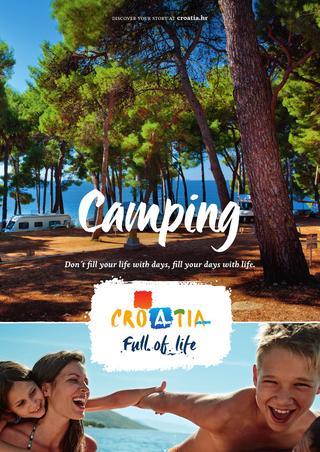 camping croatie brochure