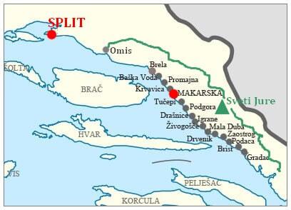 Massif de Biokovo ; paysages époustouflants sur la Via Dinarica en Dalmatie centrale 4